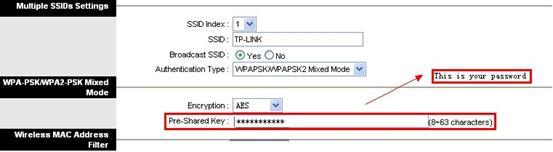 Cấu hình wifi TP-LINK