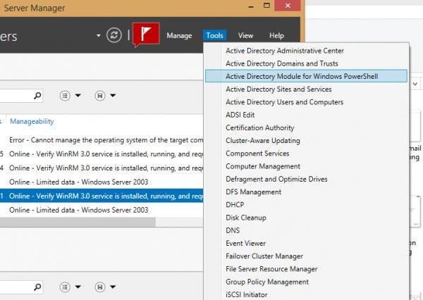 Làm thế nào để quản lý nhiều máy chủ từ xa trên Windows 8.1?