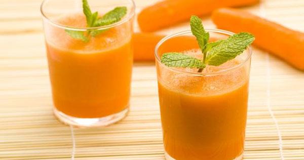 Nước cà rốt làm đẹp da