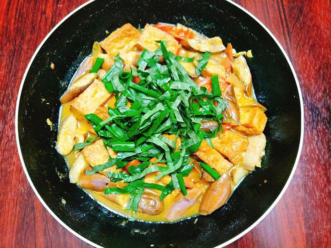 Cà tím bung thịt đậu - món ngon giản dị cho bữa cơm gia đình