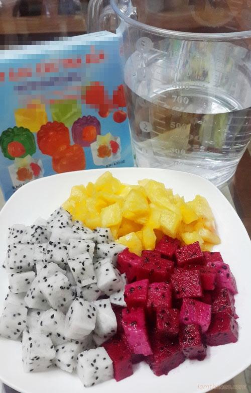 Thạch hoa quả ngọt mát cho ngày hè 0