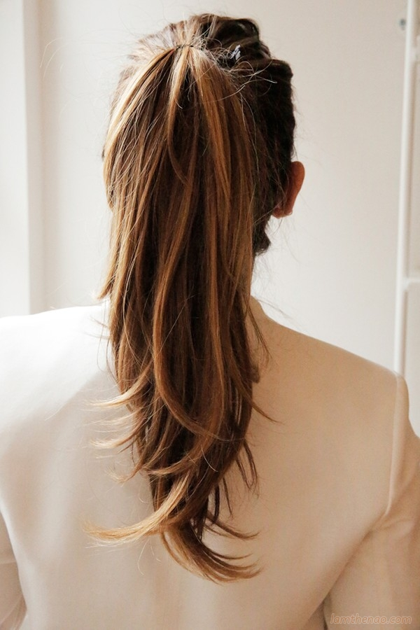 Nâng tầm cho kiểu tóc đuôi ngựa siêu cool