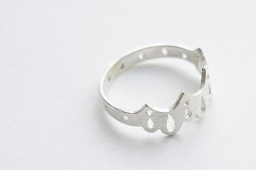 Những điều lãng mạn với nhẫn bạc nữ cho mùa thu
