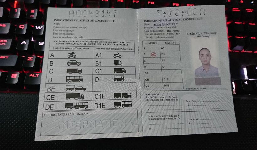 Hướng dẫn làm bằng lái xe quốc tế trực tuyến (chỉ với 199k)