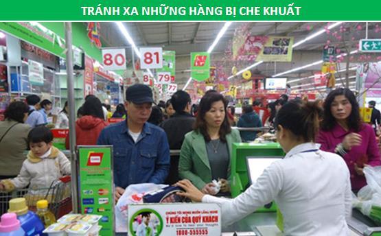 Mẹo hay giúp bạn khỏi phải chờ dài cổ thanh toán khi đi siêu thị