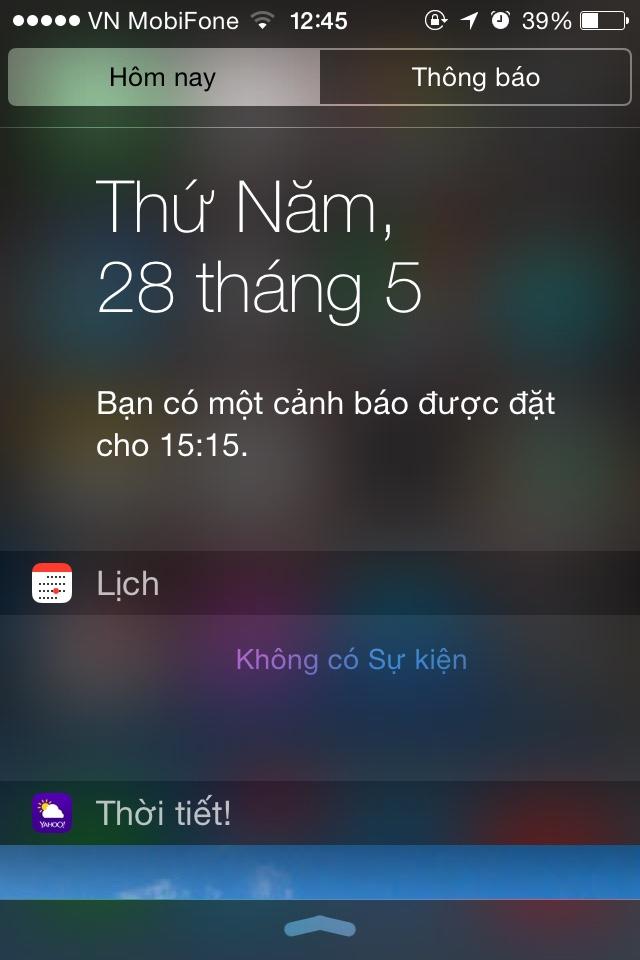 Kết quả hình ảnh cho iphone thông báo