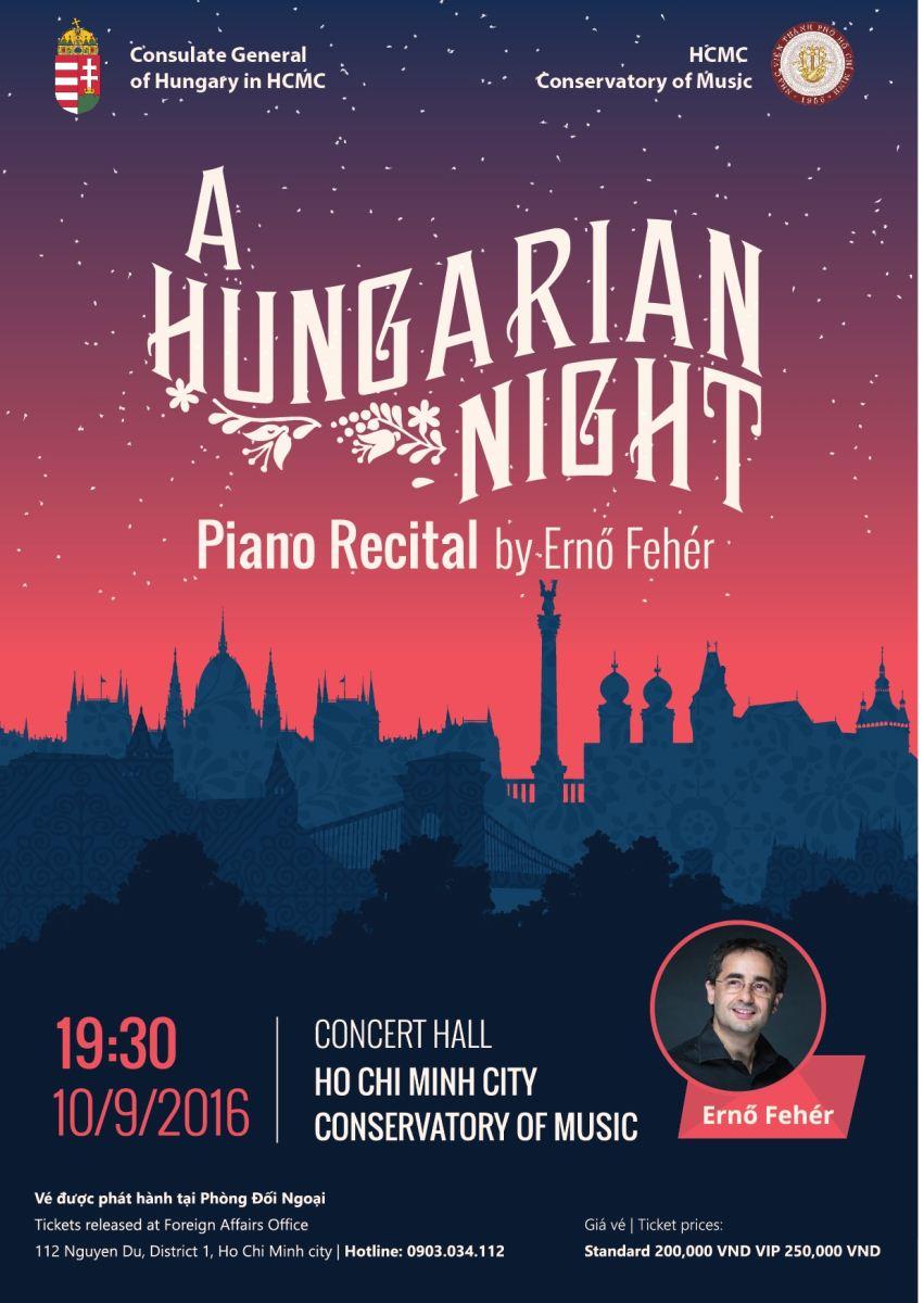 """Kết quả hình ảnh cho Hòa nhạc """"A Hungarian Night"""""""
