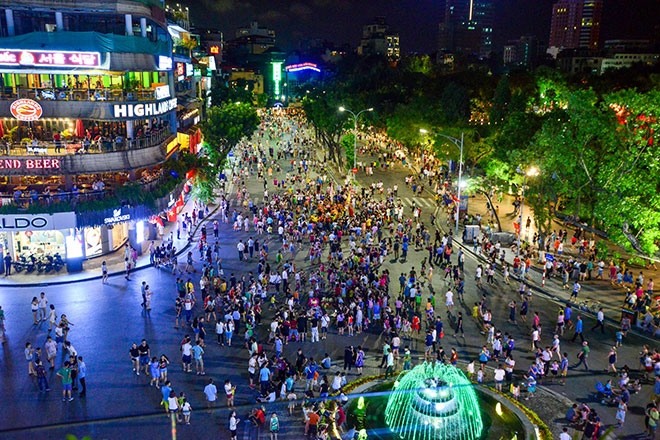 Những địa điểm tại Hà Nội nên đến vui chơi dịp Noel