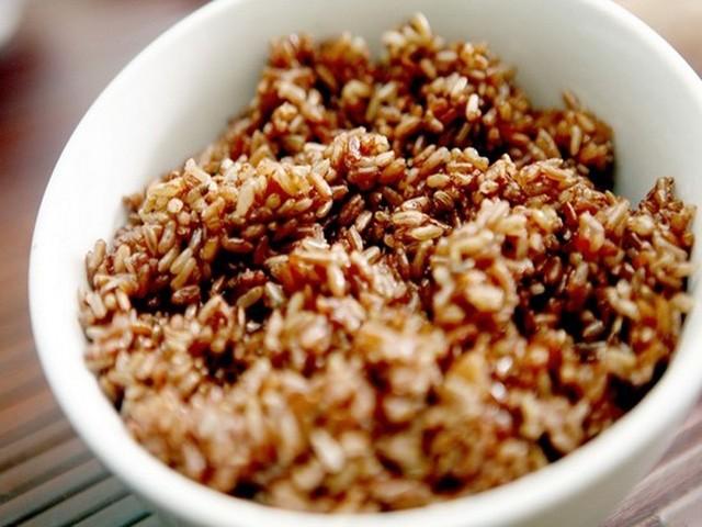 Kết quả hình ảnh cho cơm gạo lứt