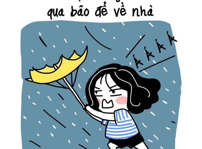 Những nguyên tắc đi đường cần nhớ khi có gió giật mạnh ngày mưa bão - Ảnh 8.
