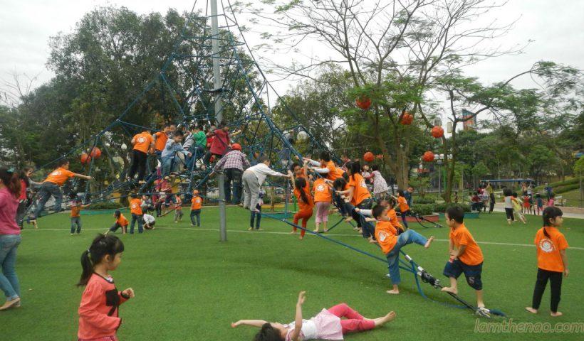 Mách mẹ địa điểm bé thích đi chơi ngày 1/6 ở Hà Nội